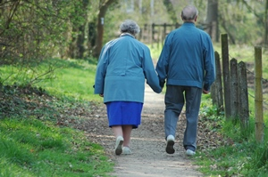 JustLoveWalkingOldCouple300x199